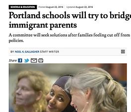 Portland Press Herald article