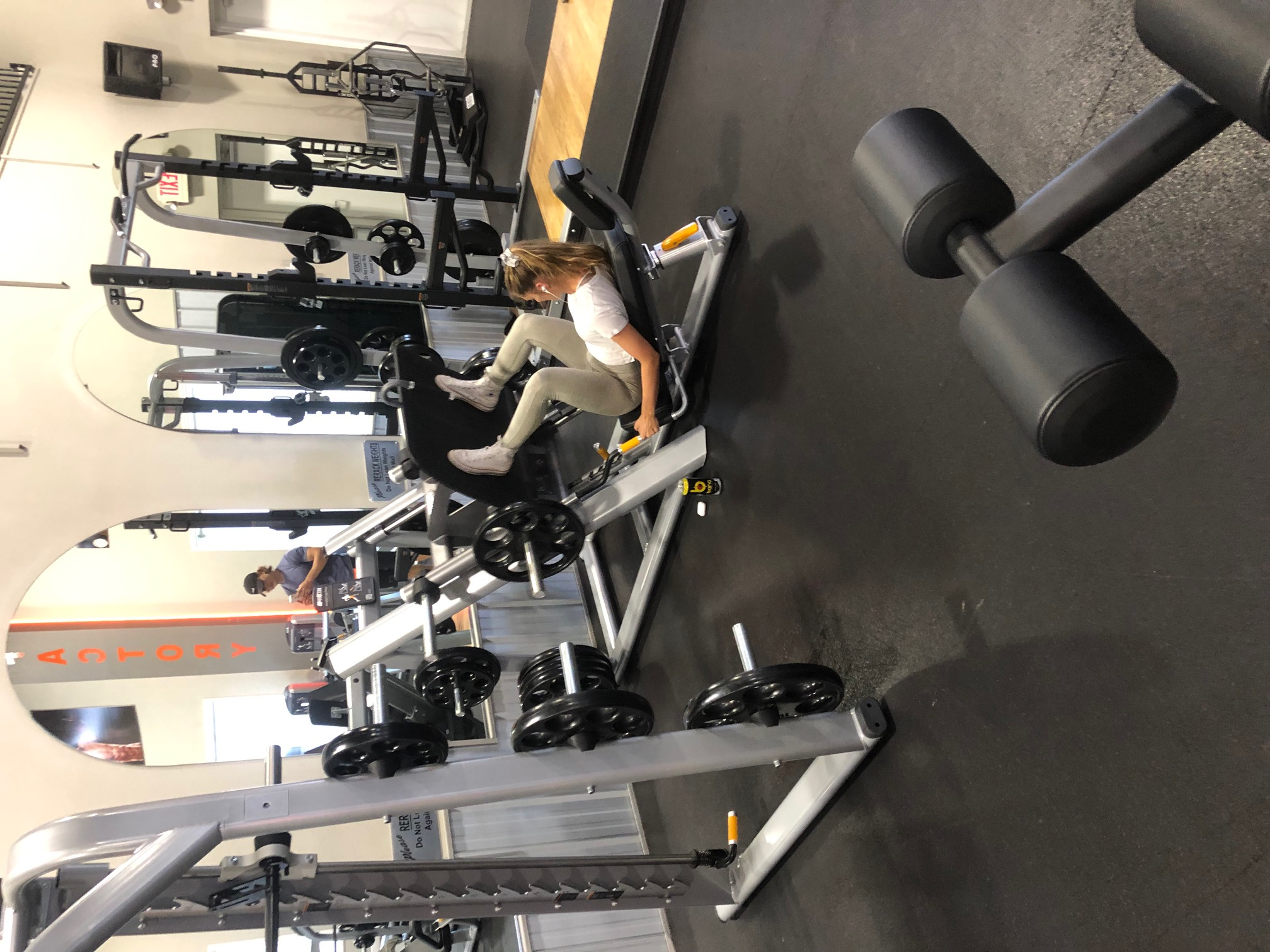 Precor Plate Loaded Leg Press