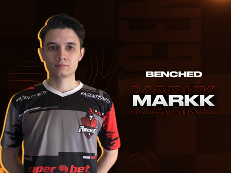 Markk benched from CS:GO roster