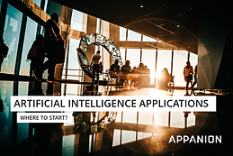 Artificial Intelligence Applications - Where to start?