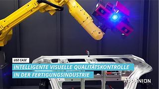 Use Case: Intelligente visuelle Qualitätskontrolle in der Fertigung