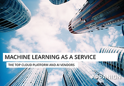 Machine Learning as a Service - The Top Cloud Platform & AI Vendors