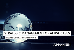 Strategic management of AI use cases