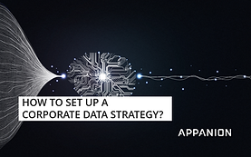 How to set up a corporate data strategy?
