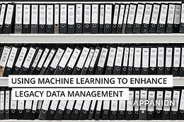 Using Machine Learning to enhance legacy data management