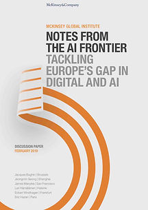 Notes from the AI frontier: Trackling Europe's gap in Digital an d AI - 60 pages