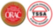 Logos of Ontario Refrigeration & Air Condtioning Contractors Assoc. and Technical Standards & Safety Authority
