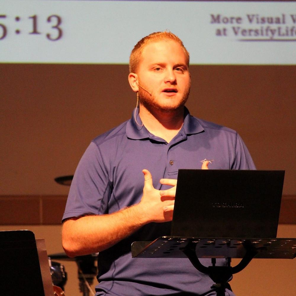 Sean Esposito Preaching