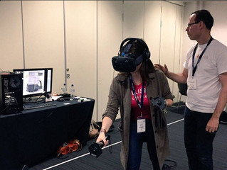 IVR Nation was at the @sleepevent demoing the HTC Vive for Architects and Designers.