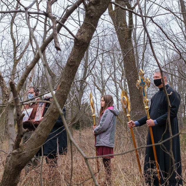 Theophany 2021: Blessing the Creek   7 of 18