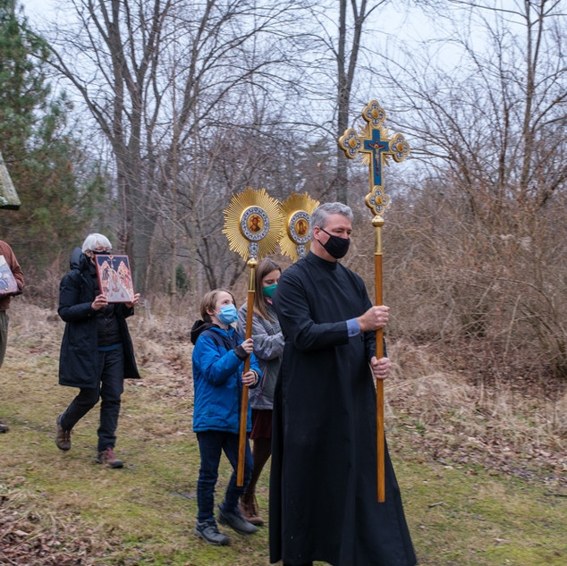 Theophany 2021: Blessing the Creek    2 of 18