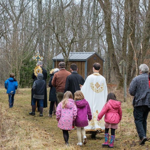 Theophany 2021: Blessing the Creek   14 of 18