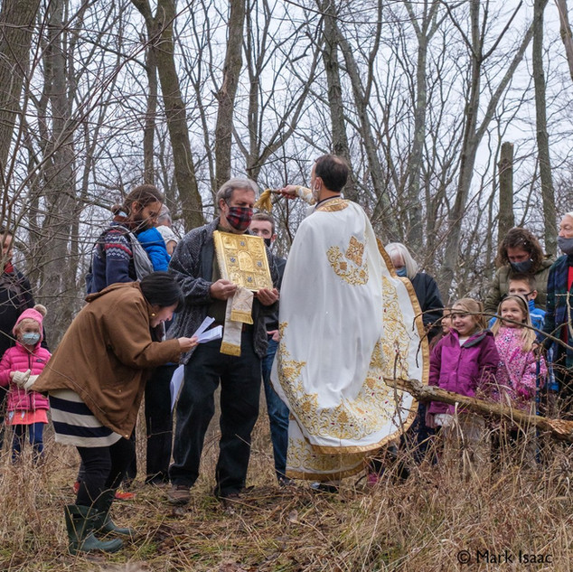 Theophany 2021: Blessing the Creek   11 of 18