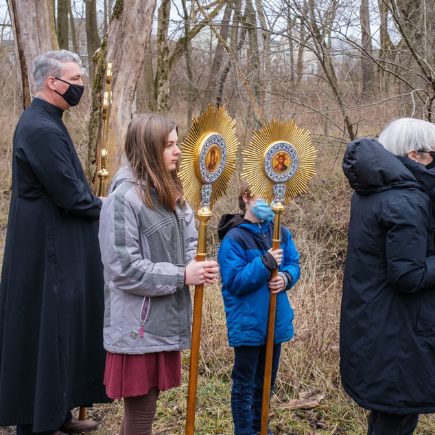 Theophany 2021: Blessing the Creek   5 of 18