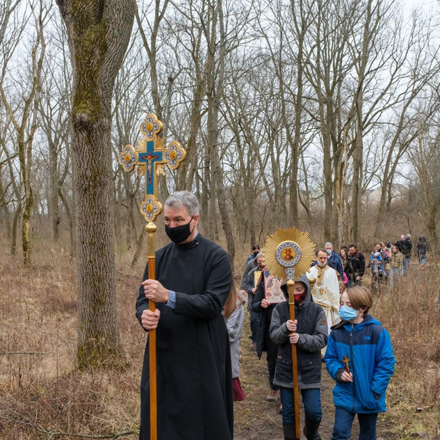 Theophany 2021: Blessing the Creek   13 of 18