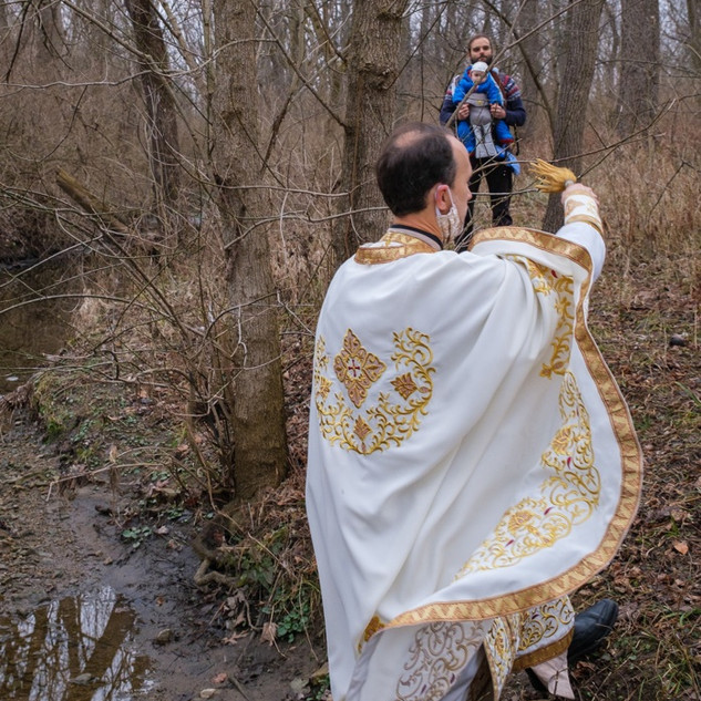 Theophany 2021: Blessing the Creek   10 of 18