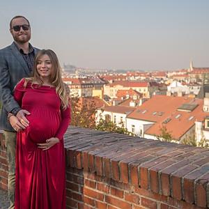 Těhotenské focení v Praze