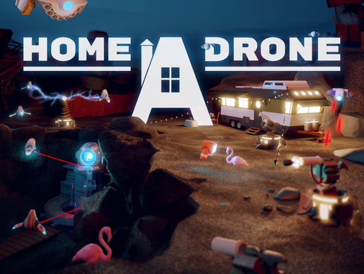 """""""Home A Drone"""", Our New VR Game Is Coming Soon!"""