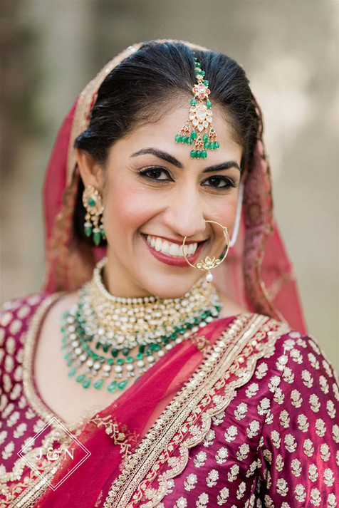 detroit south asian bridal makeup and hair