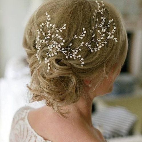 Colette Gold & Pearl Hair Pin