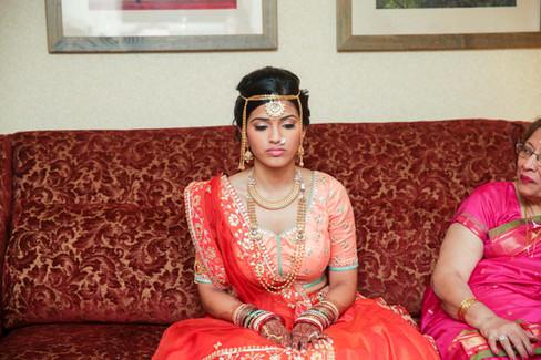 ann arbor south asian wedding makeup and hair