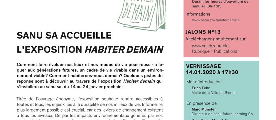 """Vernissage de l'exposition """"Habiter demain"""" au sanu"""