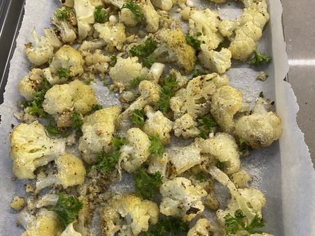 Roasted Cauliflower Deliciousness
