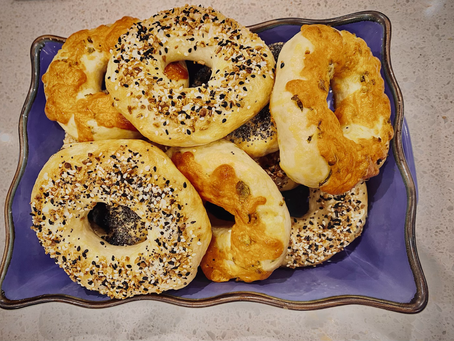 BAGELS - Home made delicious bagels! Mix and Match!!