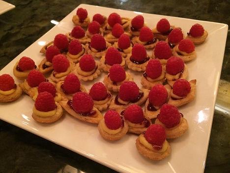 Homemade Raspberry Tarts