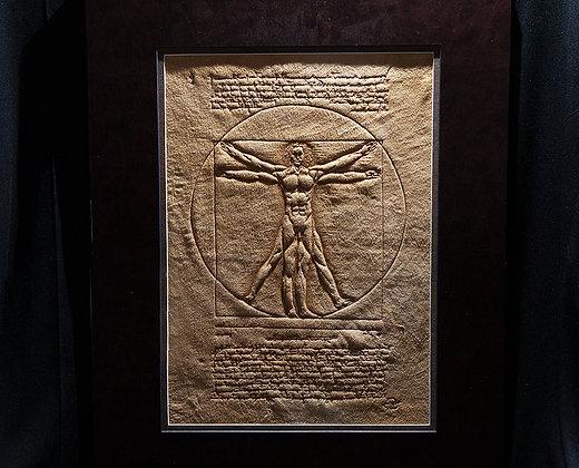 Vitruvian Man - Leonardo Da Vinci - ORIGINAL