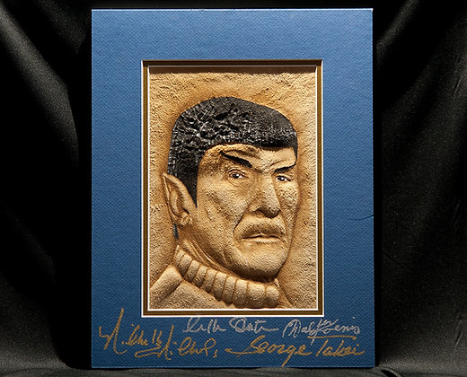 Spock - Autographed by the TOS crew!
