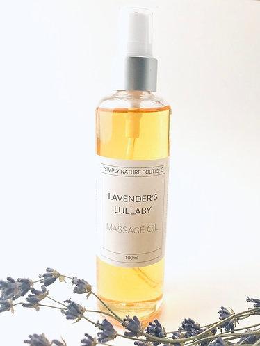 Lavender's Lullaby Massage Oil