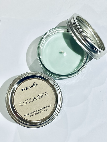 Cucumber Soy Candle