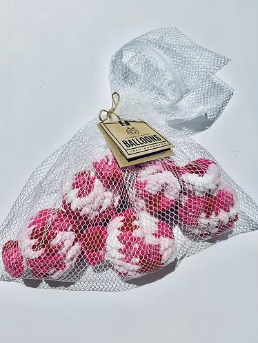 5 Reusable Water Balloons & Mesh Net