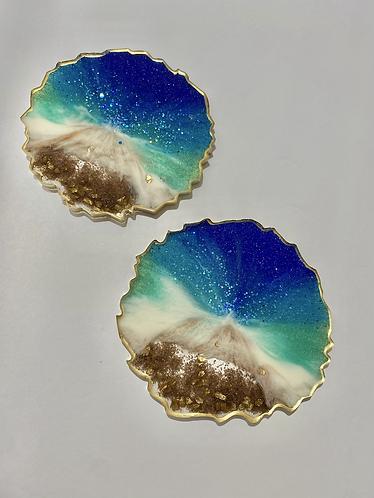 Resin Coasters (set of 2)