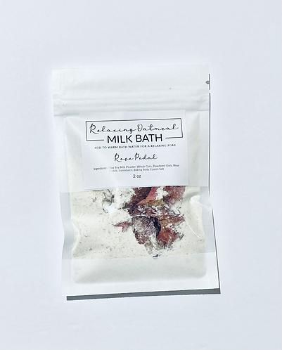 Rose Pedal Oatmeal Milk Bath
