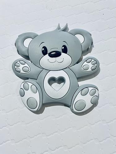 Bear Silicone Pendant