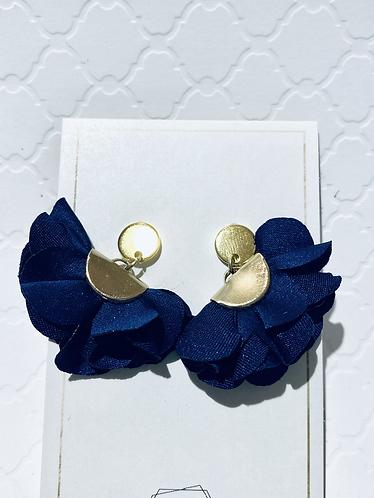 Royal Blue Tassle Earrings