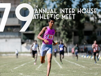79TH ANNUAL INTER HOUSE ATHLETIC MEET - 2018