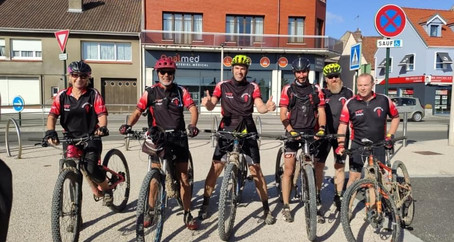 Servins-Etaples ! Bravo la section VTT