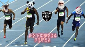 Joyeuses fêtes à tout le monde