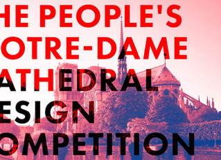 """Submit to """"Notre Dame spire rebuild Competition"""""""