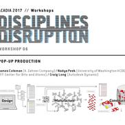 ACADIA 2017 workshop in Boston