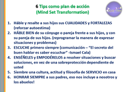 6 tips de acción
