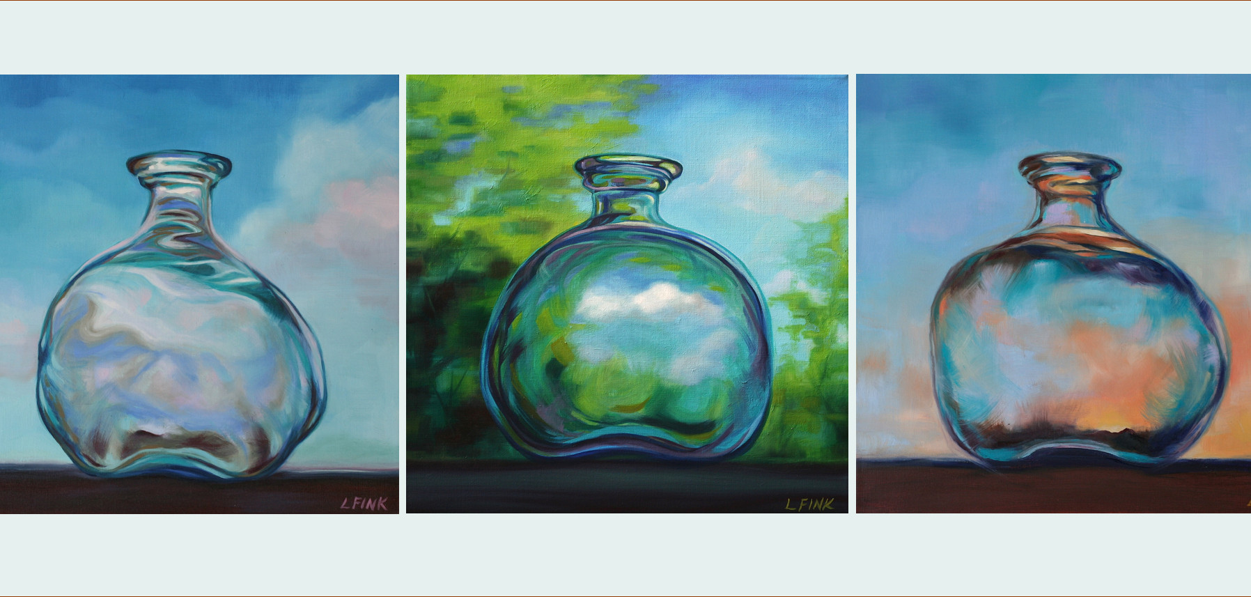 Moment in Time Triptych