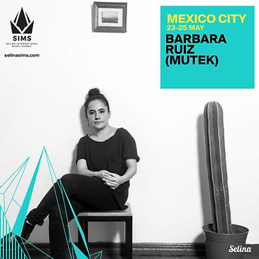 Bárbara Ruíz (MUTEK)