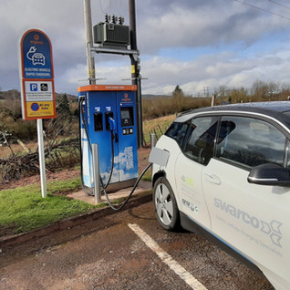 A 50KW EV CHARGER ON THE ENGENIE NETWORK AT A HISTORIC INN
