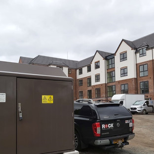 ELECTRICAL CONNECTION FOR A NEW CARE HOME
