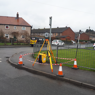 3D MODELLING OF UNDERGROUND UTILITIES AND TOPOGRAPHICAL FEATURES AT BRO HAVARD ESTATE, DENBIGHSHIRE