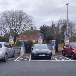 TWO DOUBLE SOCKET 50KW EV CHARGERS ON THE ENGENIE NETWORK